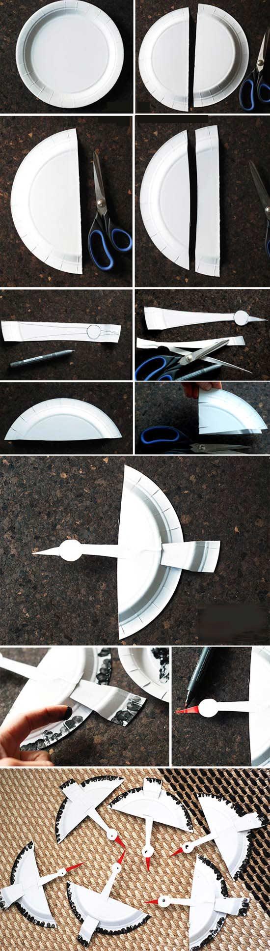 Plastik Tabaktan Kolay Kelebek Yapımı