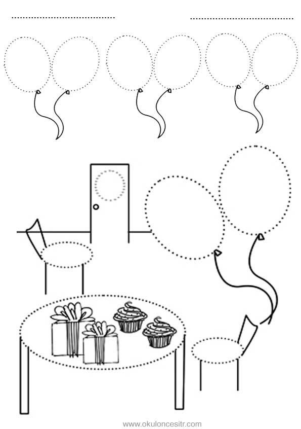 Daire Kavramı Çalışma Sayfası