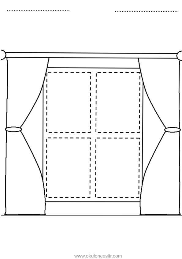 Dikdörtgen Kavramı Çalışma Sayfası