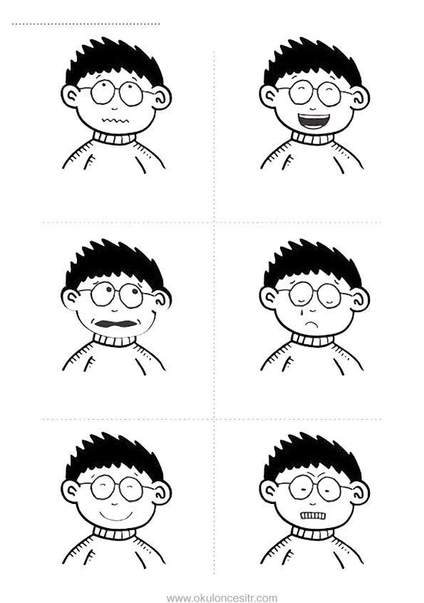 Duygu Kavramı Sayfası Okulöncesitr L Preschool