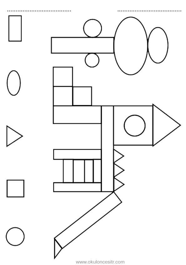 Şekil Kavramı Çalışma Sayfası