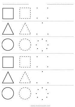şekil Kavramı çalışma Sayfası Okulöncesitr L Preschool
