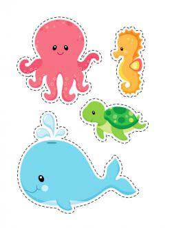 Deniz Canlıları Kalıbı