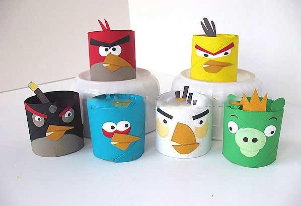 Rulodan Angry Birds Yapmak