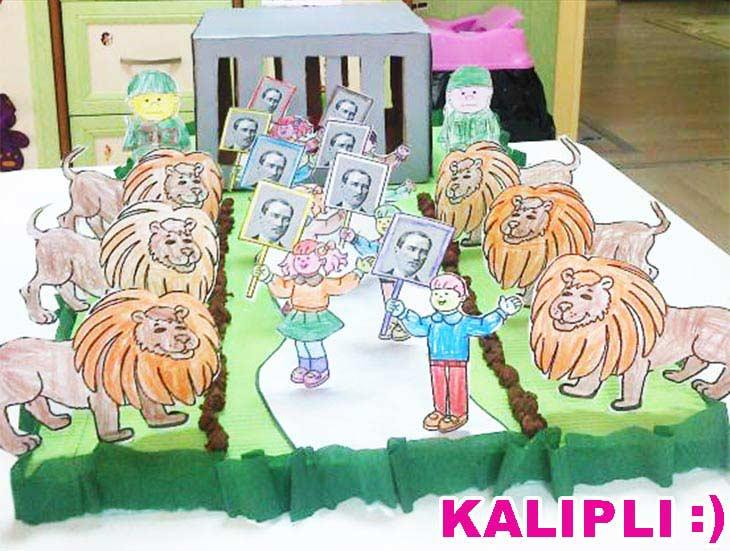 Anitkabir Etkinligi Kalipli Okuloncesitr Preschool