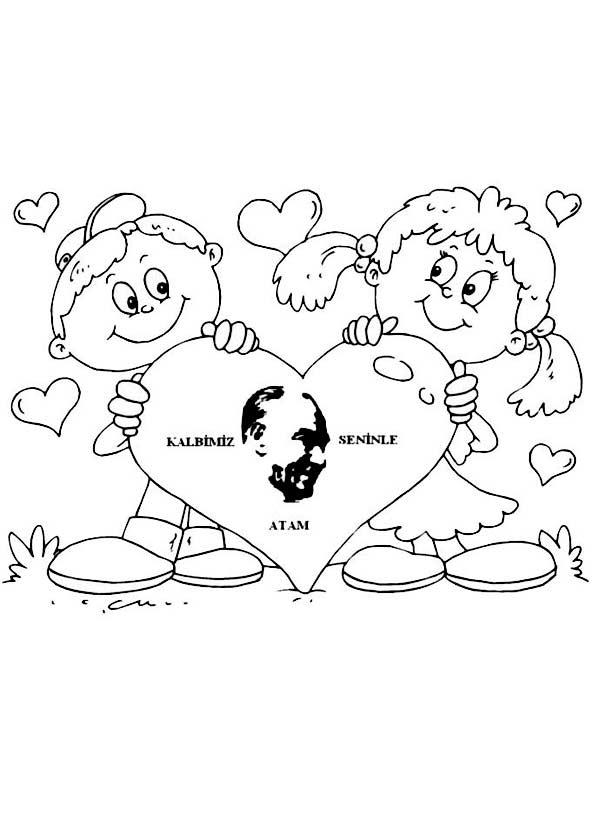 10 Kasım Etkinliği Kalıbı Okulöncesitr L Preschool