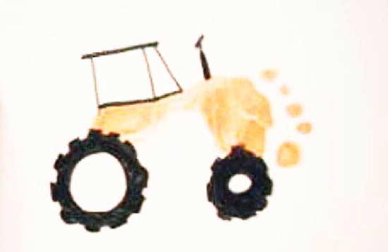 Ayak Baskısı Traktör