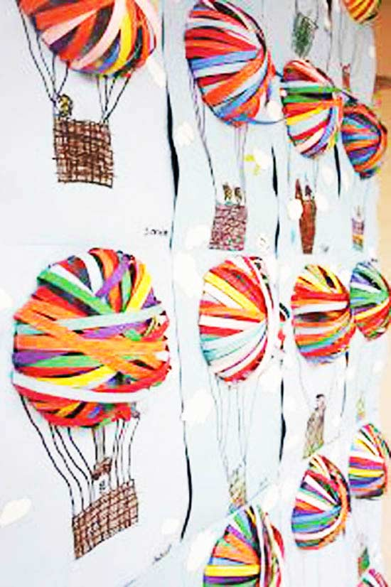Uçan Balon Boyama Sayfası Okulöncesitr L Preschool
