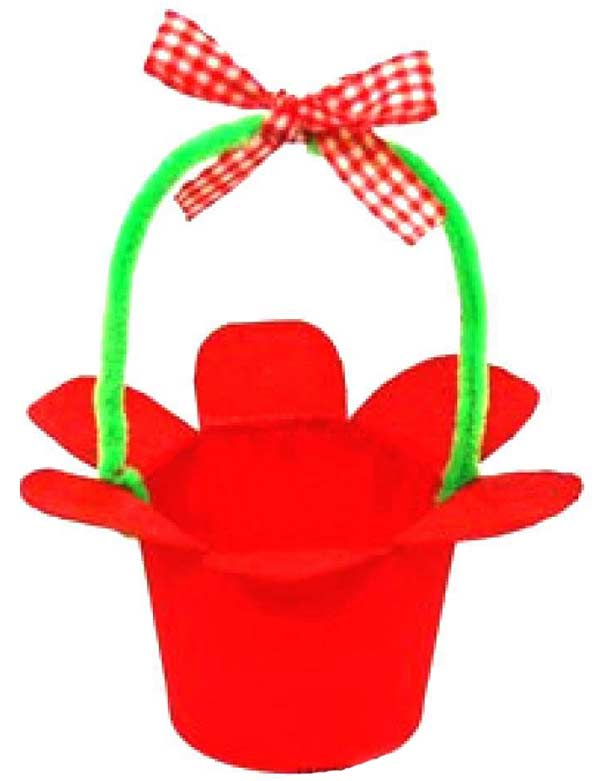 Çiçek Sepeti Yapımı