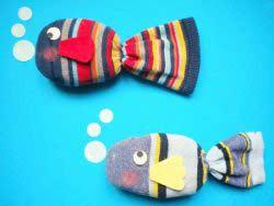 Çoraptan Balık Yapımı
