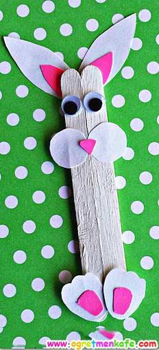 Dondurma Çubuğundan Tavşan