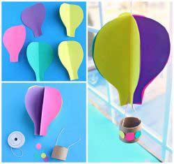 Üç Boyutlu Balon Yapımı