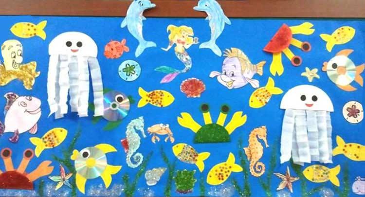 Deniz Canlilari Yapimi Okuloncesitr Preschool