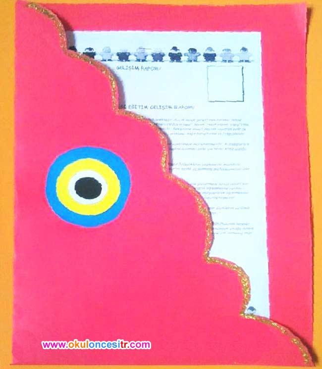 Gelişim Raporu Dosya Kapağı