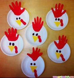 Tabaktan Tavuk Yapımı
