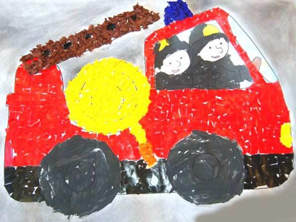 Itfaiye Araci Yapimi Okuloncesitr Preschool