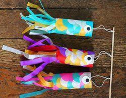 Rulodan Japon Balığı Yapımı