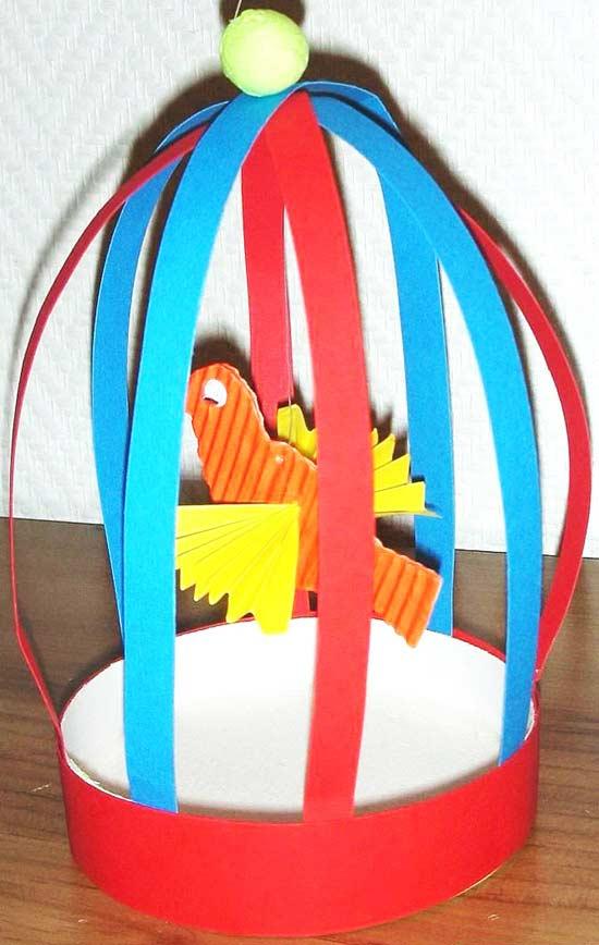 Kafeste Kuş Yapımı Okulöncesitr L Preschool