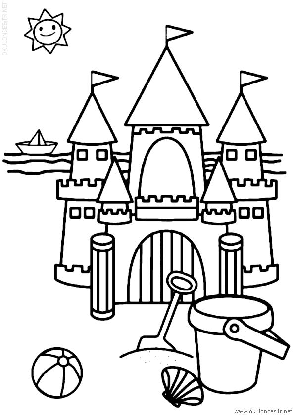 Kumdan Kale Boyama Sayfası