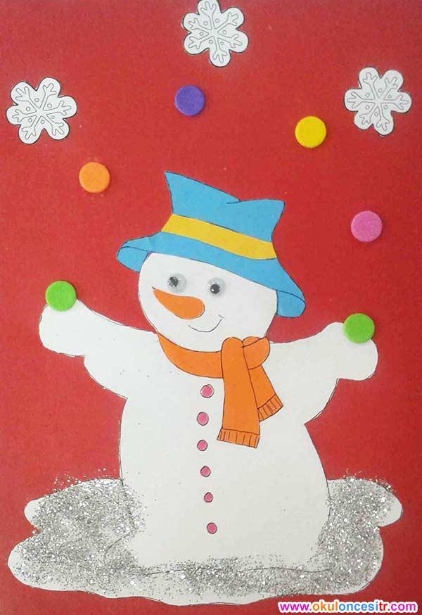 Kardan Adam Yılbaşı Etkinliği Okulöncesitr L Preschool