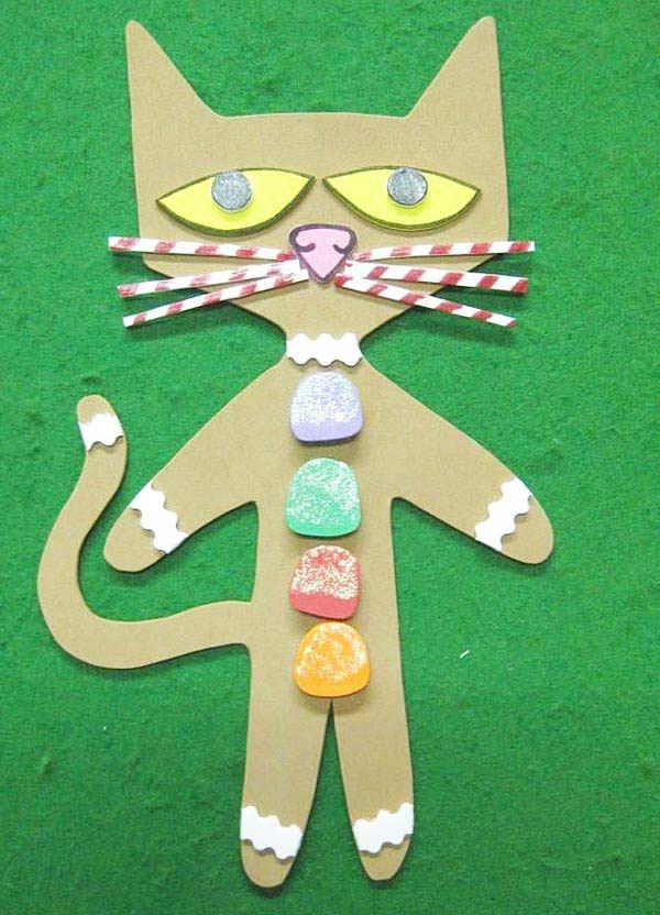 Kartondan Kedi Yapımı