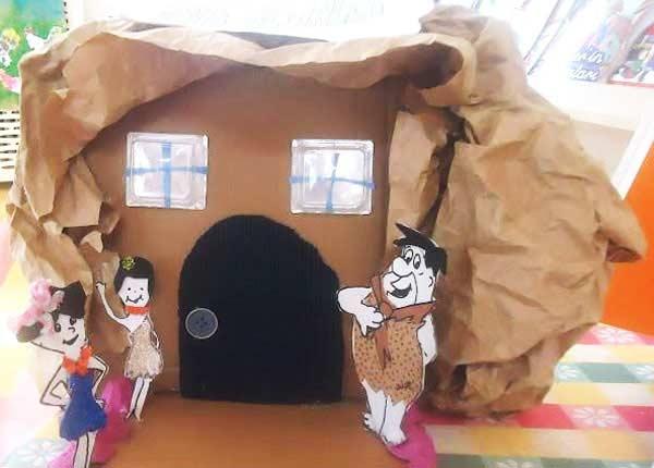 Kraft Kağıdından Ev Yapımı