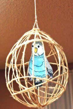 Kafeste Kuş Yapımı