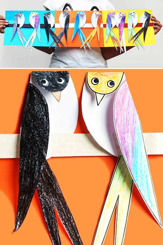 Üç Boyutlu Kuş Yapımı