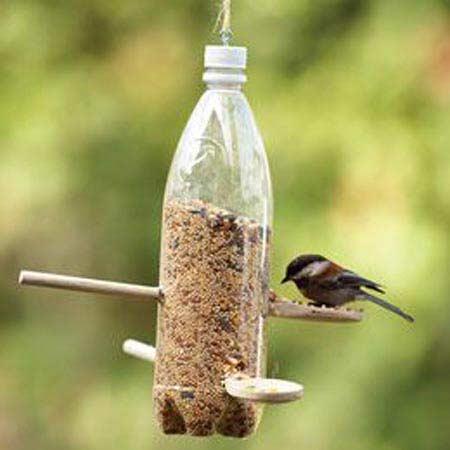 Pet Şişeden Kuş Yemliği Yapımı