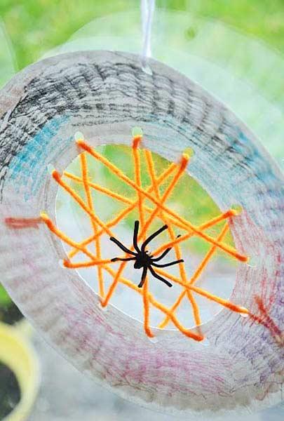 Tabaktan Örümcek ve Örümcek Ağı Yapımı
