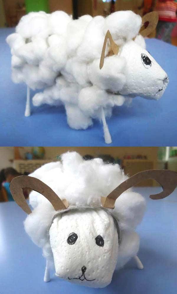 Pamuktan Koyun Yapımı