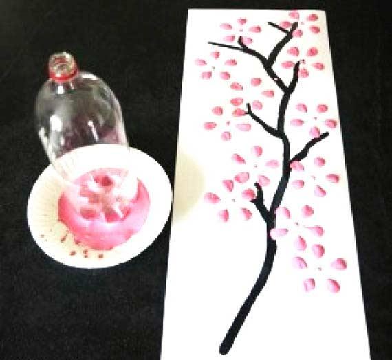 Pet şişe Altı Ağaç Yapımı Okulöncesitr L Preschool