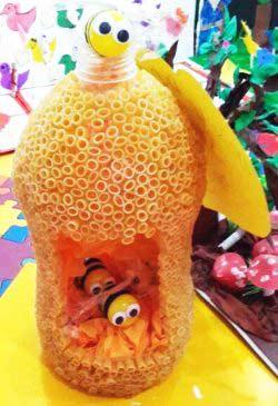 Pet Şişe Arı Yuvası Yapımı