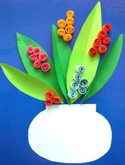 Saksıda Çiçek Yapımı