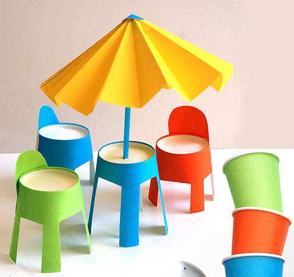 Şemsiye ve Sandalye Yapımı