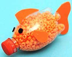 Pet şişe balık yapımı