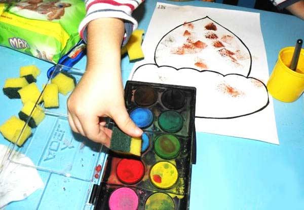 Sunger Baski Etkinligi Okuloncesitr Preschool