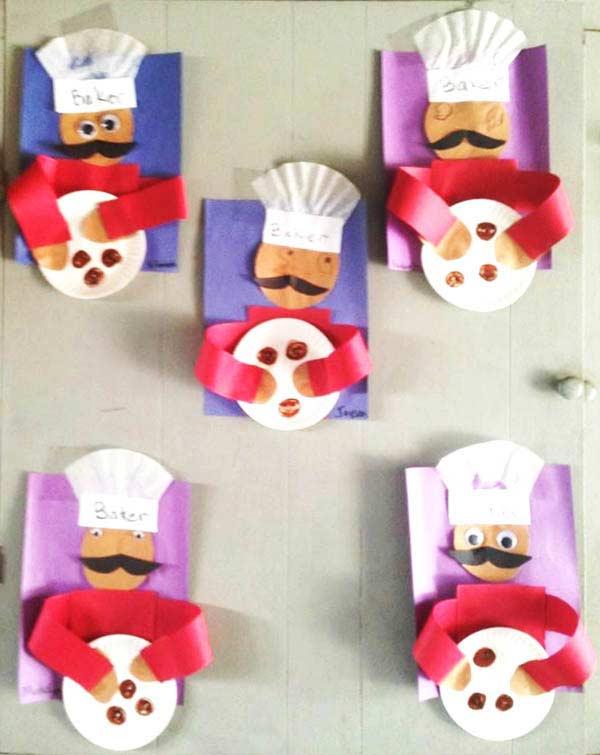 Tabaktan Aşçı Yapımı Okulöncesitr L Preschool