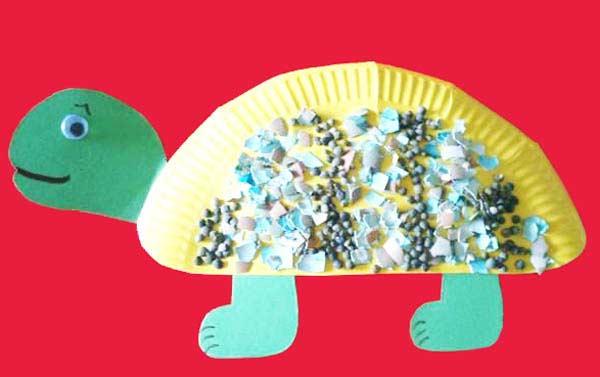 Tabaktan Kaplumbağa Yapımı