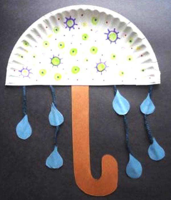 Tabaktan Şemsiye Yapımı