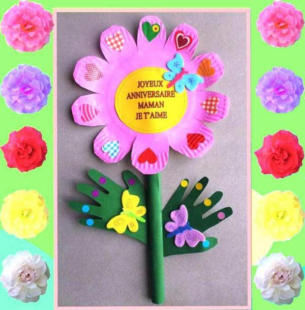 Tabaktan Çiçek Yapımı