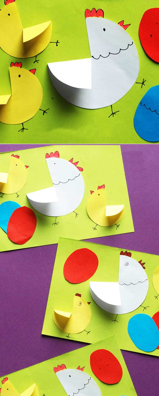 Tavuk Ve Civciv Yapimi Okuloncesitr Preschool