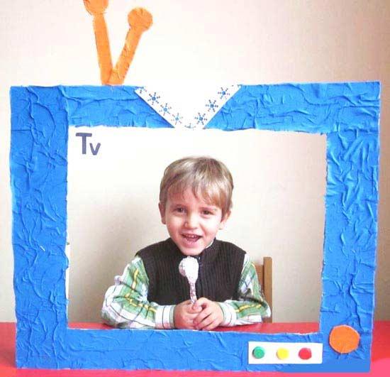 Kartondan Tv Yapımı Okulöncesitr L Preschool