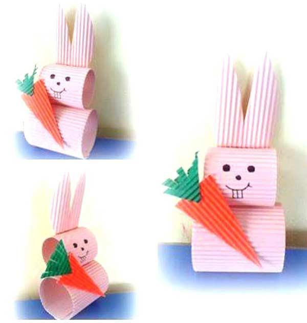 Karton Tavşan Yapımı