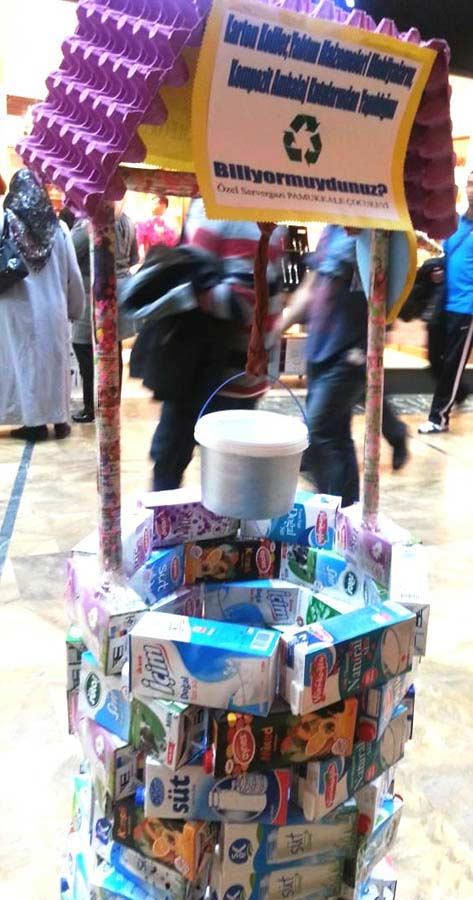 Süt Kaplarından Tulumba Yapımı