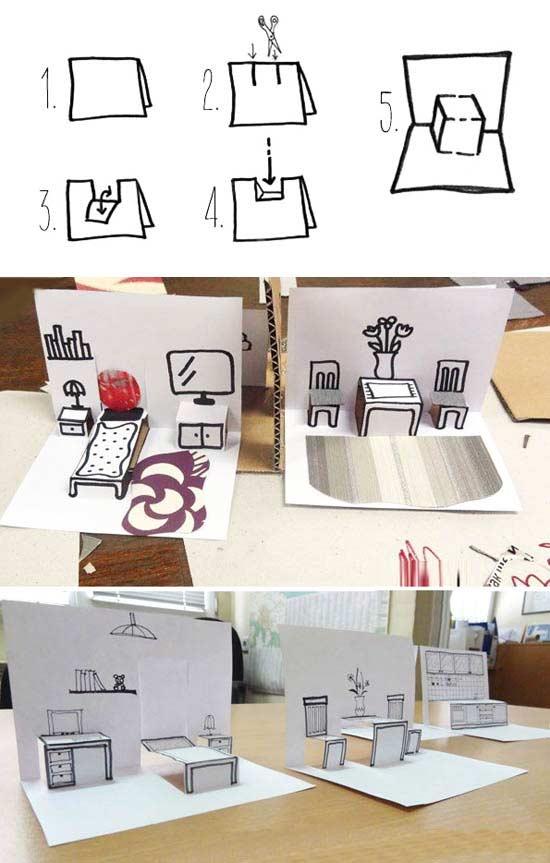 Uc Boyutlu Oda Yapimi Okuloncesitr Preschool