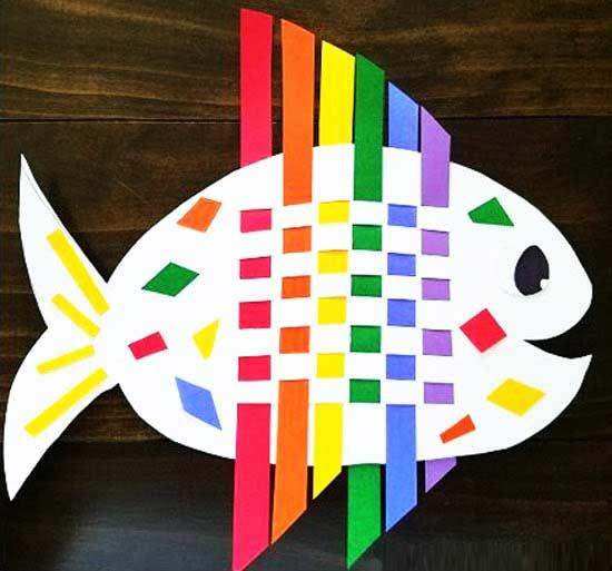 Kağıttan Güzel Balık Yapımı