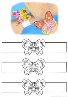Kelebek Bileklik Kalıbı