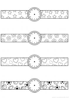 Saat Bileklik Kalıbı