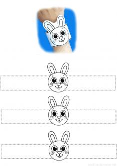 Tavşan Bileklik Kalıbı
